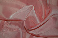 Шифон-кристалон тюль однотонный бордовый., фото 1