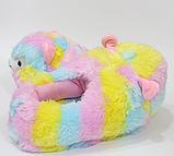 Тапочки-кигуруми разноцветные Альпаки, 36-40, фото 3