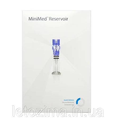 Резервуар для инсулиновых помп Медтроник 1.8 мл (Reservoir Medtronic Paradigm 1.8 ml)