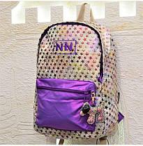 Школьный рюкзак молодежный для девочки подростка яркий Winner One 214-4, фото 3