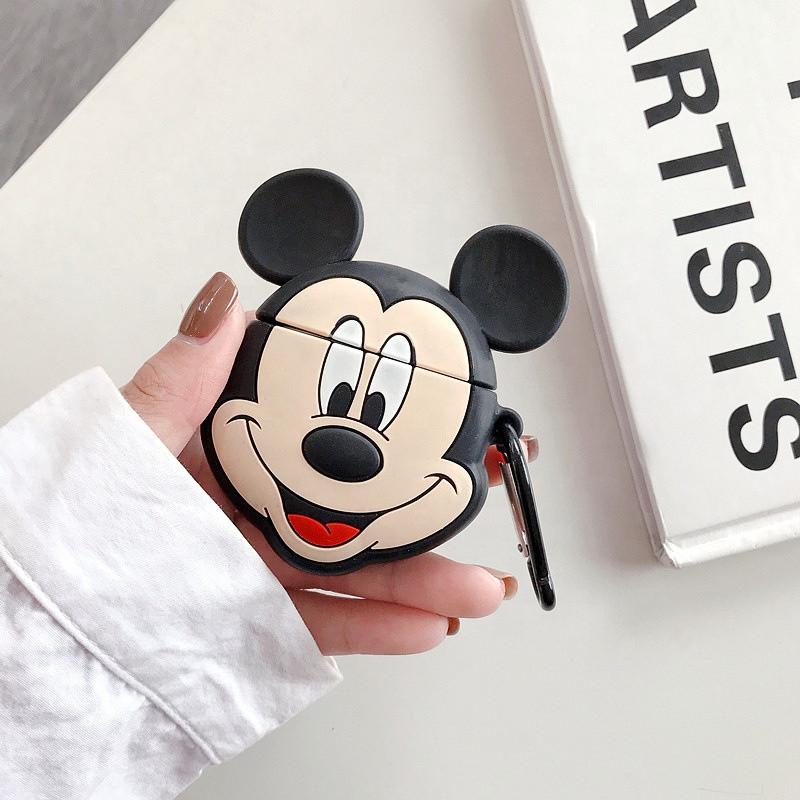 Силиконовый противоударный чехол - Airpods Apple. Микки Маус Disney