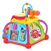 Игровой центр Маленькая вселенная, музыкальная игрушка для самых маленьких.Hola Toys (806)