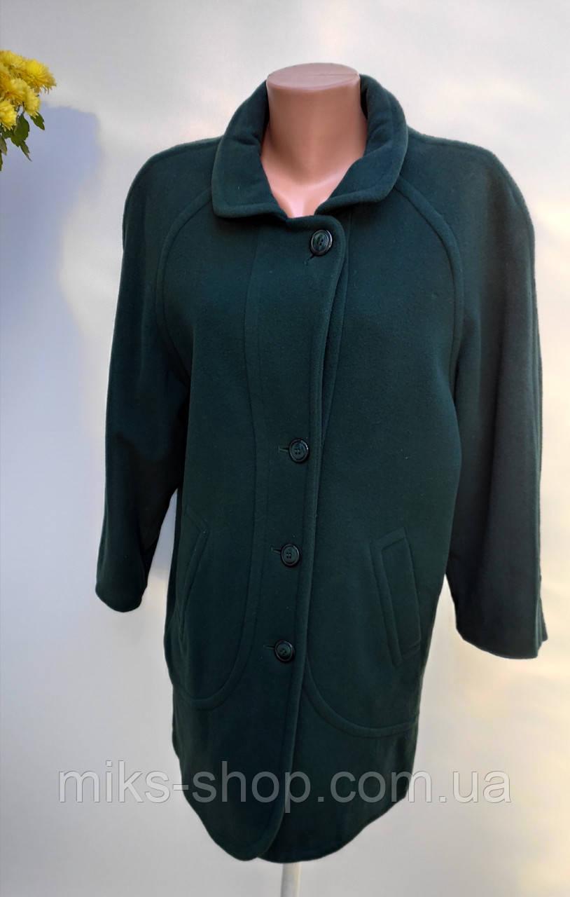 Пальто кашемірове на ґудзиках Розмір М ( А-30)
