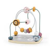 Детский деревянный лабиринт для малышей Бусины Viga Toys Polar (44020)