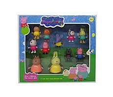 Игровой набор друзья Свинки 11 персонажей