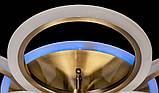 Светодиодная люстра с диммером и подсветкой, 100W, фото 5