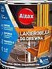 Защитно-декоративное покрытие для дерева Altax Lakierobejca (Махон) 0,75 л