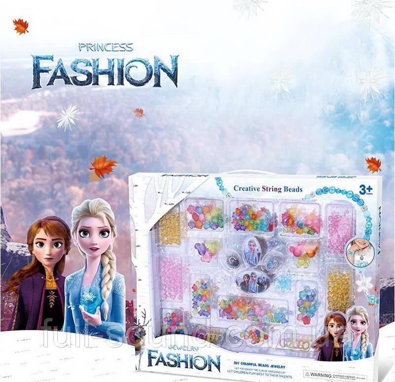 Набор бисера для плетения браслетов frozen 3006