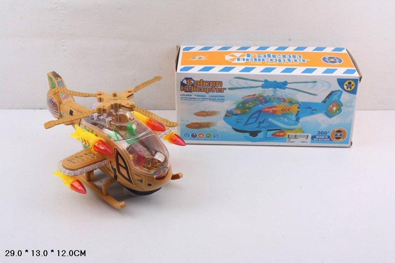 Игрушка самолет вертолет музыкальный