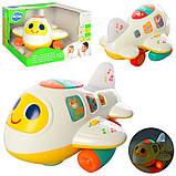 Дитячий конструктор літаків Play Smart, має світлові і звукові ефекти, фото 2