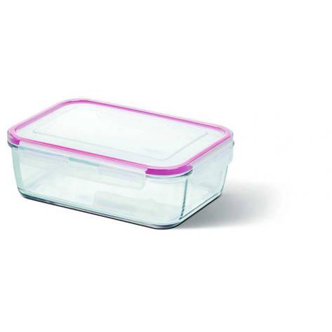 Прямоугольный стеклянный контейнер CLIP&CLOSE 0,39л, фото 2