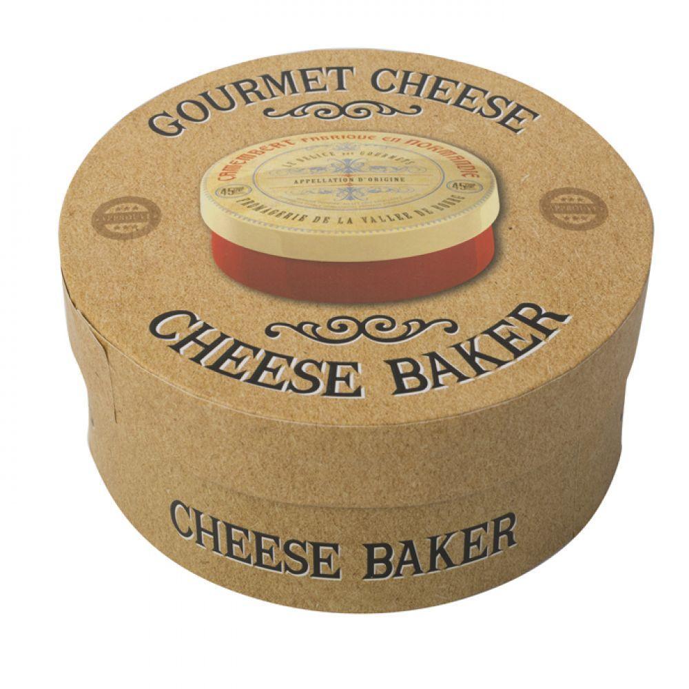 Коробка для сыра камамбер GOURMET CHEESE керамическая