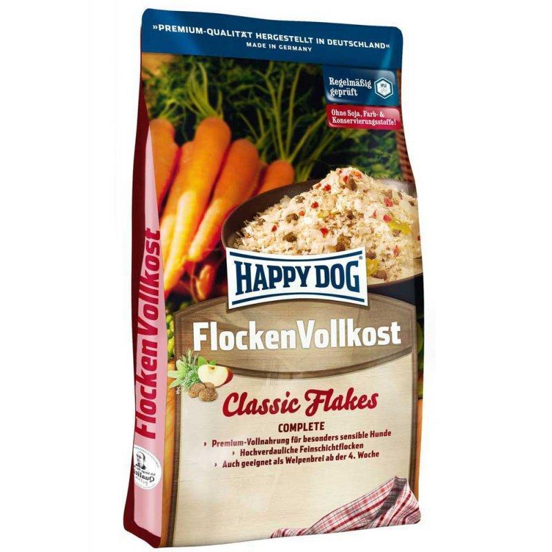 Flocken Vollkost 3 кг Корм для собак всех размеров и возрастов Премиум-класс (2166, Happy Dog, Хэппи Дог)