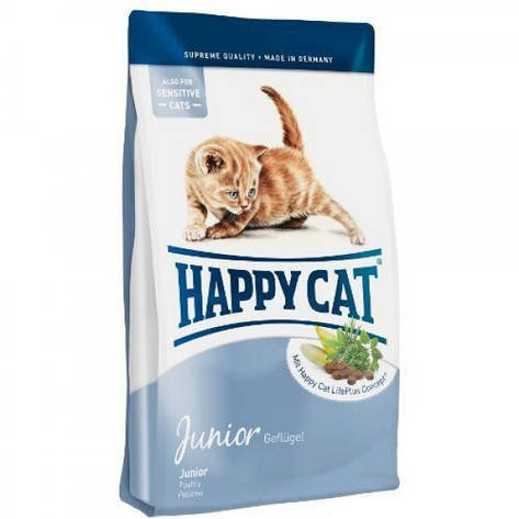 Корм для котят Supreme Junior от 5 недель до 12 месяцев 10,0 кг супер-премиум (70184) Happy Cat (Хэппи Кэт), фото 2
