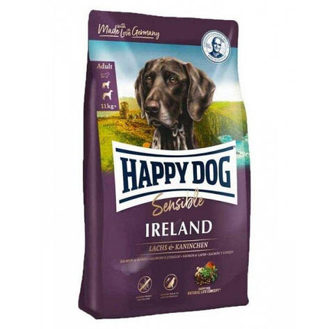 Supreme Sensible Ireland 12,5 кг Корм для взрослых собак весом 11 кг + Супер-премиум класс (3538, Happy Dog), фото 2