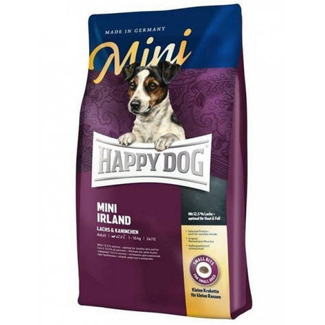 Mini Irland 4 кг Корм сухой для взрослых собак малых пород Супер-премиум класс (60111, Happy Dog, Хэппи Дог), фото 2