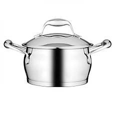 Набор посуды BergHOFF Essentials из нержавеющей стали с 3-х слойным дном из 12 предметов, фото 3