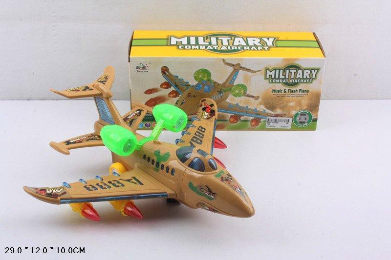Дитячий конструктор літаків Play Smart, має світлові і звукові ефекти