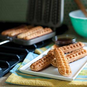 Сковорода для вафель из двух частей, 33 х 20 х 4 см, фото 2