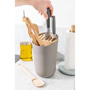 Подставка для ножей и кухонных приборов LEO, 14,5 х 14,5 х 24 см, фото 2