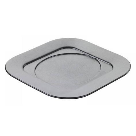 Подставка квадратная под кокотницу, черная, 17 х 175 х 1,5 см, фото 2
