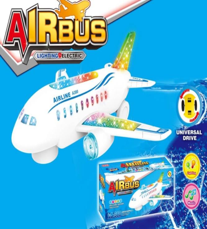 Игрушка самолет музыкальный