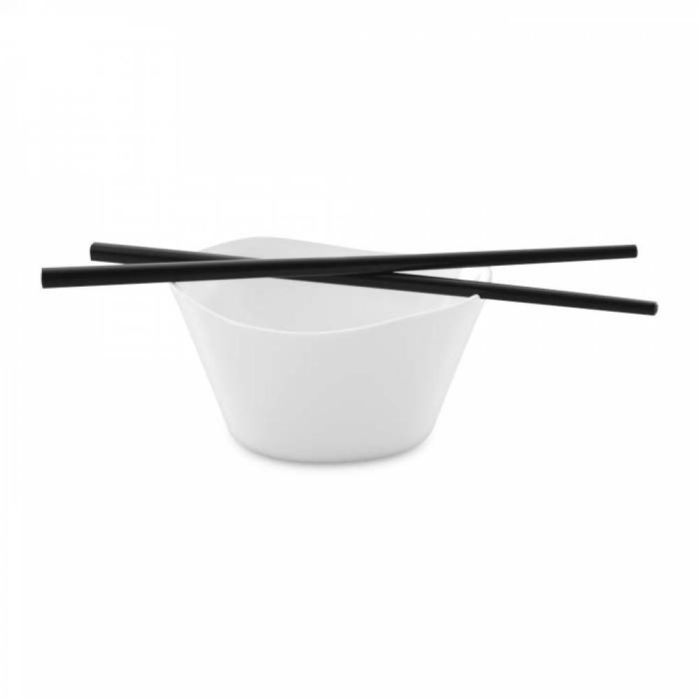 Мисочка для риса с палочками Eclipse (2 шт.) 11 х 11,5 х 6 см