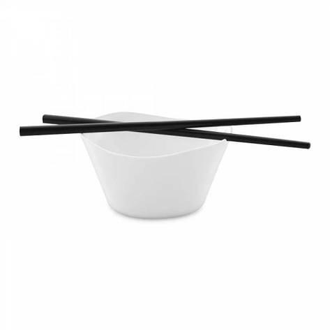 Мисочка для риса с палочками Eclipse (2 шт.) 11 х 11,5 х 6 см, фото 2