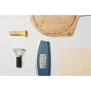 Міні-ніж для равіолі LEO, дерев'яна ручка, діам. 5 см, фото 2