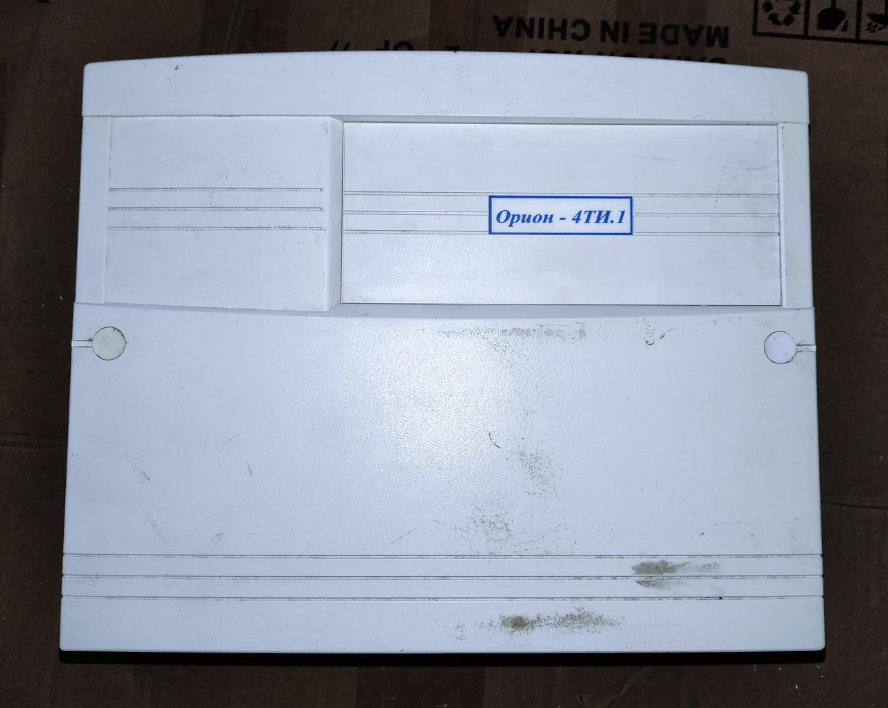 Б/У ППКО Орион-4ТИ.1. ППКО Орион 4 шлейфа сигнализации. Прибор приемно-контрольный охранно-пожарный