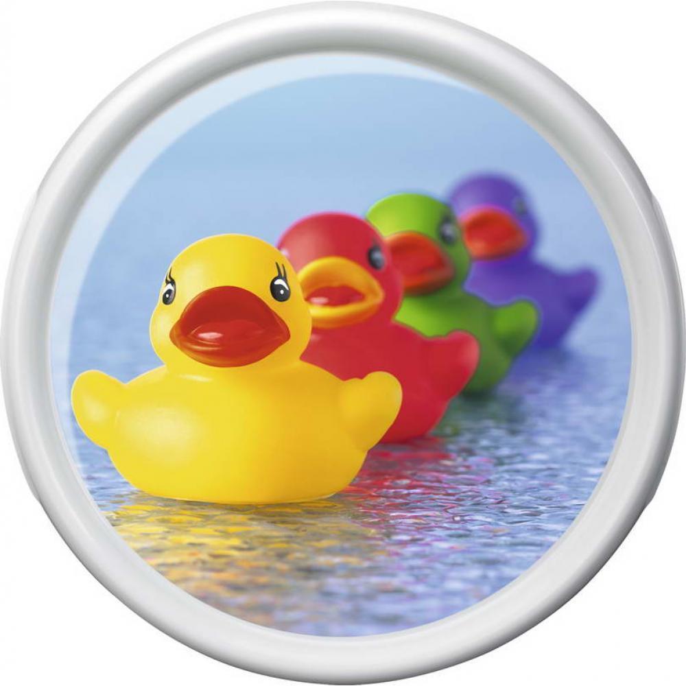 Круглый поднос ROTATION Rubber ducks