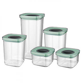 Набор контейнеров со смарт-системой хранения LEO, 5 шт., фото 2