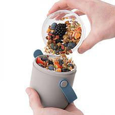 Контейнер для еды и набор столовых приборов LEO, фото 3