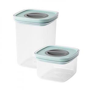 Набор контейнеров для еды со смарт-системой хранения LEO, 2 пр., фото 2