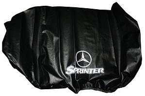 Чехол капота (кожазаменитель) Mercedes Sprinter 2006-2018 гг. / Чехлы на капот Мерседес Бенц Спринтер