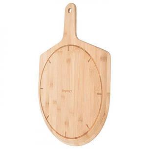 Лопата для піци LEO, дерев'яна, діам. 30,5 см, фото 2