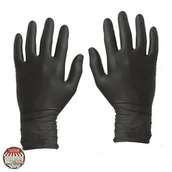 Рукавички нітрилові одноразові чорні Colad, L