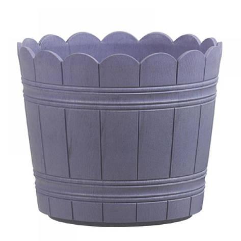 Цветочный горшок COUNTRY, круглий, 35 х 29 см, фиолетовый, фото 2