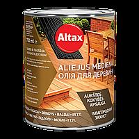 Масло для древесины Altax Olej do drewna (Тик) 0,75 л, фото 1