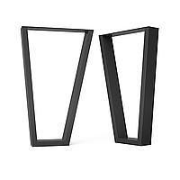 Опора для журнального стола из металла 280×60mm, H=450mm