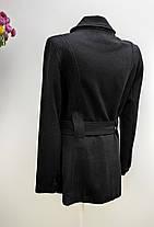Кашемірове пальто на гудзиках Розмір 38 ( А-70), фото 2