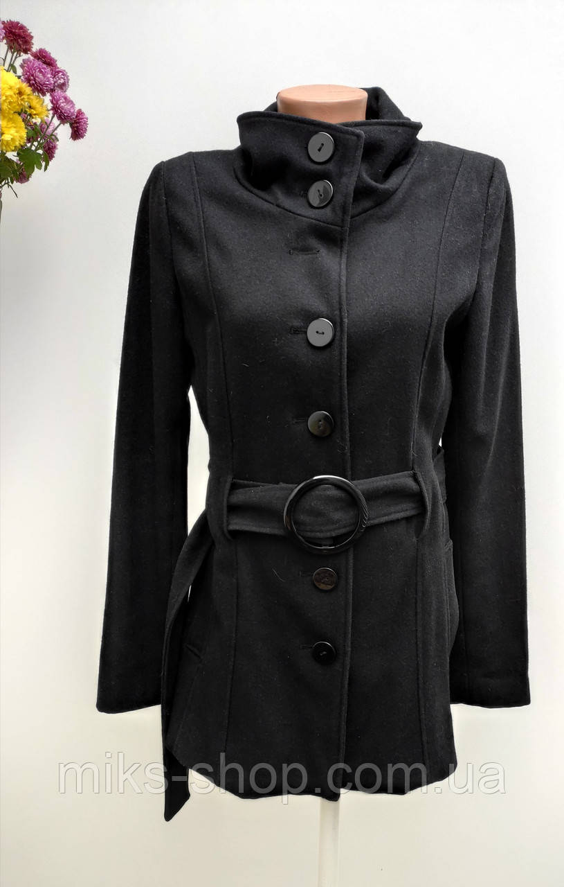 Кашемірове пальто на гудзиках Розмір 38 ( А-70)