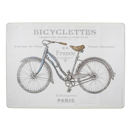 Набор пробковых подставок под тарелки Bicycles, 40 х 29 см, 4 пр., фото 2