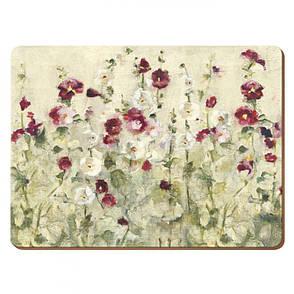 Набор пробковых подставок под тарелки Wild Field Poppies, 30 x 23 см, 6 шт., фото 2