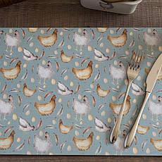 Набор корковых подставок под тарелки Feather Lane, 4 шт., фото 2