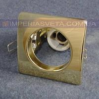Светильник точечный встраиваемый для подвесного потолка FERON квадрат LUX-314523