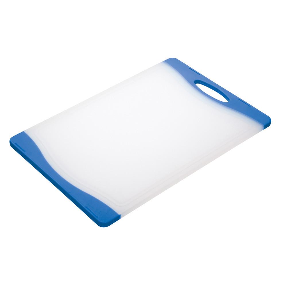 Доска кухонная Colourworks, пластик, голубая, 20 x 36,5 см