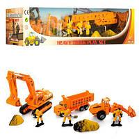 Набор игрушечной металлической строительной техники Pro-Engine PT 2023