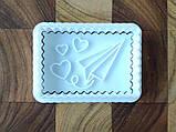 3Д Формочка до Дня Закоханих Серце-пончик   Вирубка на день святого Валентина   Вирубка для пряників, фото 2