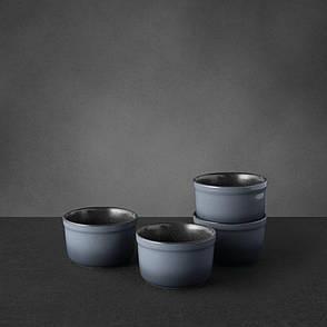 Набор форм керамических для выпечки GEM, круглые, диам. 10 см, 400 мл, 4 пр., фото 2